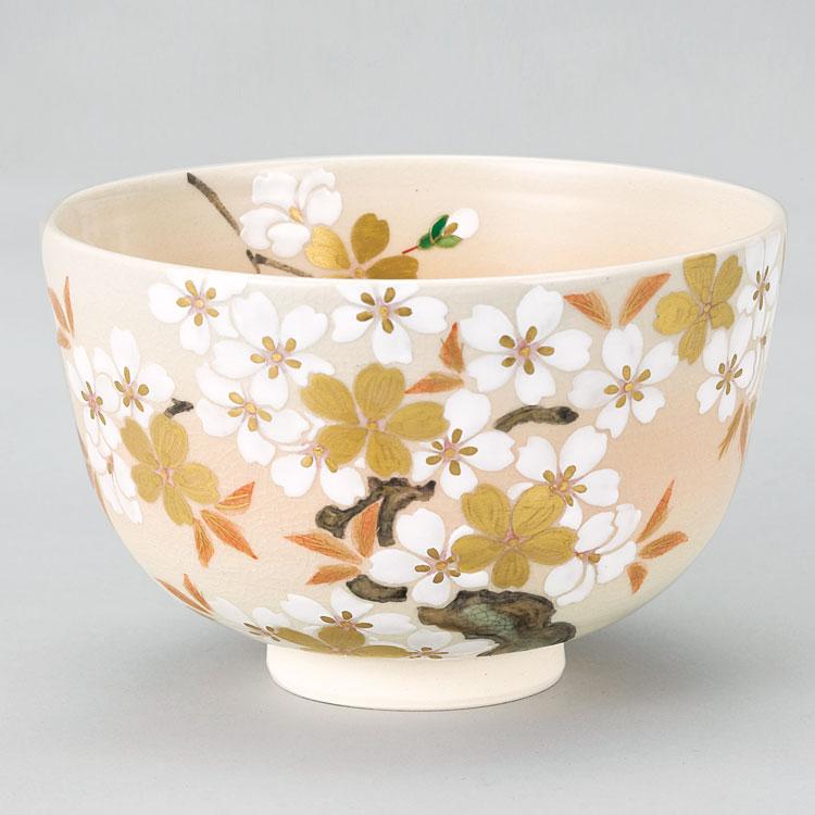 茶道具 抹茶茶碗(まっちゃちゃわん) 御本手 桜樹絵茶碗 小手鞠窯