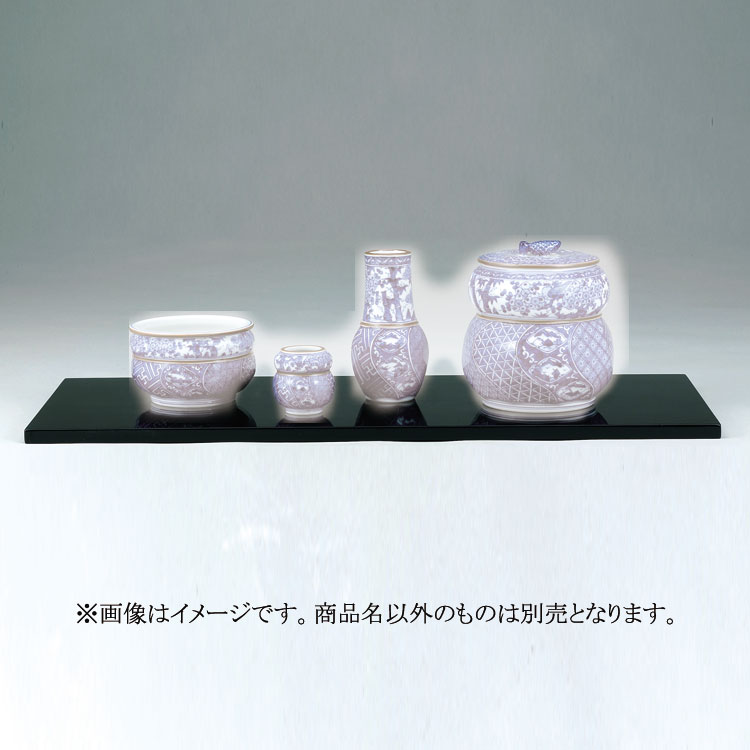 茶道具 釜・風炉・鉄瓶 真塗 (花塗) 長板 炉用