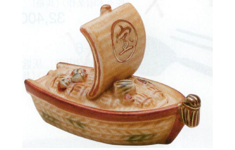 茶道具 宝船 香合