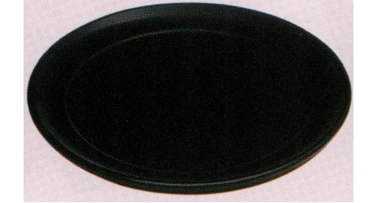 茶道具 真塗 丸盆[木製]