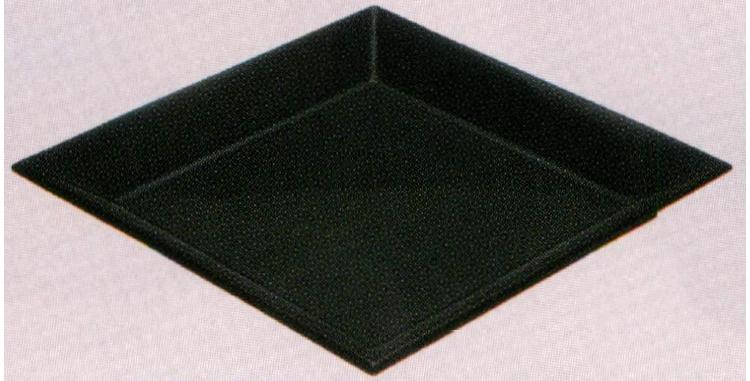 茶道具 真塗 菱盆[木製]