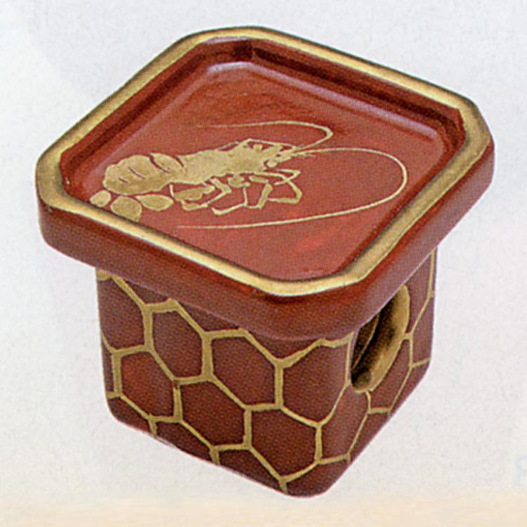 茶道具 三宝 海老 橋本永豊 蓋置(茶道具 通販 )