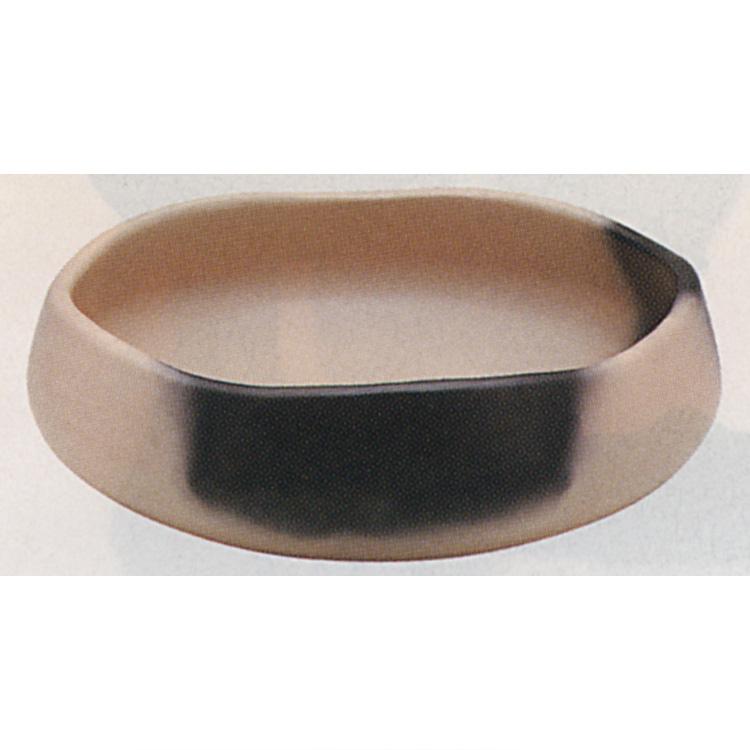 茶道具 雲華焼(炉用) 灰器 蒲池窯 灰器(茶道具 通販 )