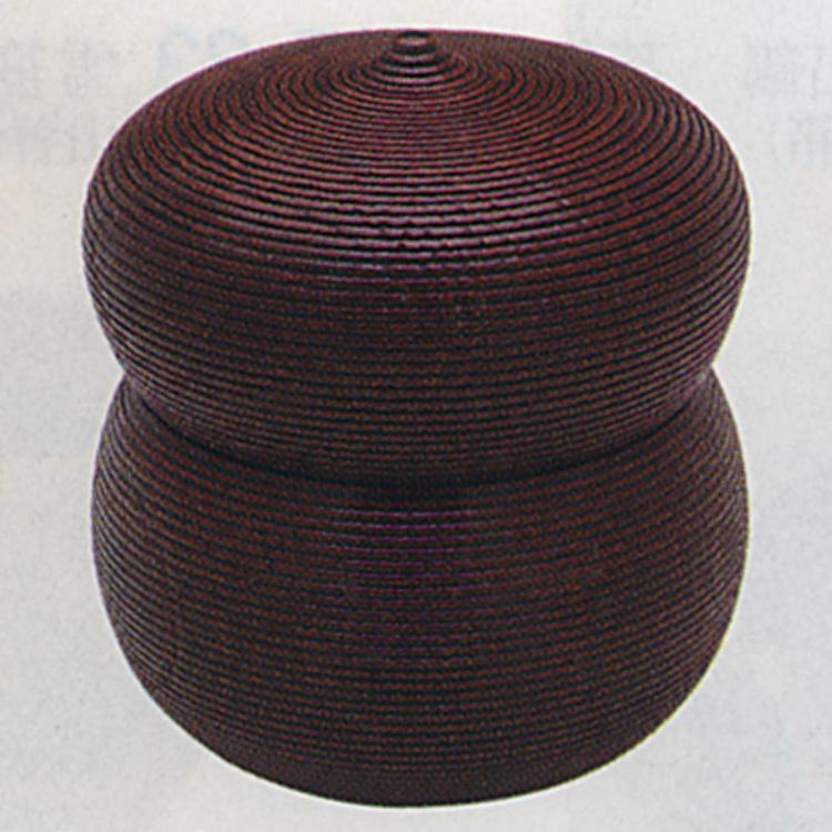 茶道具 欅千筋 瓢型 茶器(木製) 瓢型 茶器