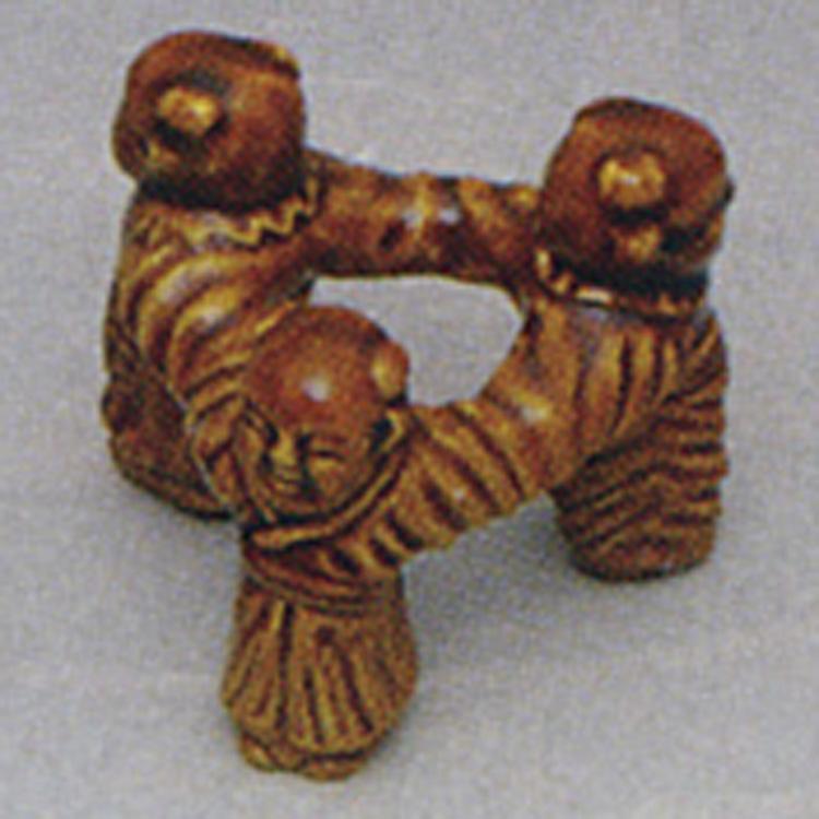 茶道具 三ツ人形 川崎和楽 蓋置(茶道具 通販 )