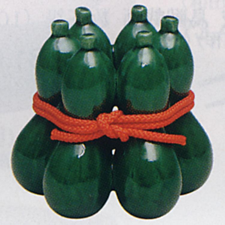 茶道具 青楽 六瓢 蓋置 佐々木昭楽 青楽 蓋置(茶道具 通販 )