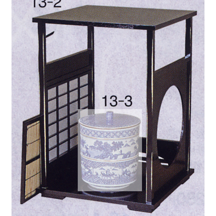 茶道具 円能斉好写 吉野棚 ●商品名以外のものは別売です。 (茶道具 通販 )