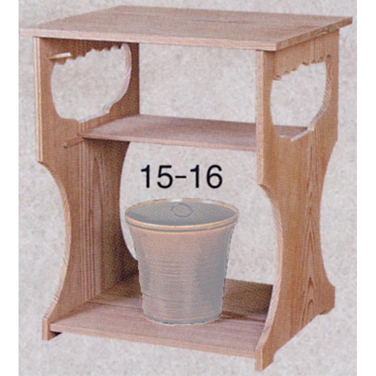 茶道具 玄々斎好 杉棚(組立式) ●商品名以外のものは別売です。 (茶道具 通販 )