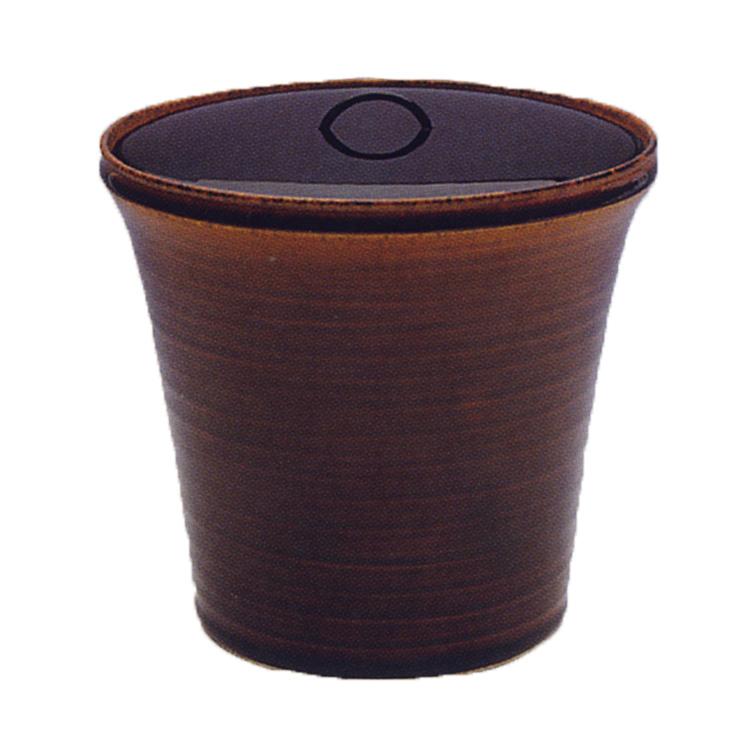 茶道具 高取釉 末広形 一重口 水指 笹田有祥 (茶道具 通販 )