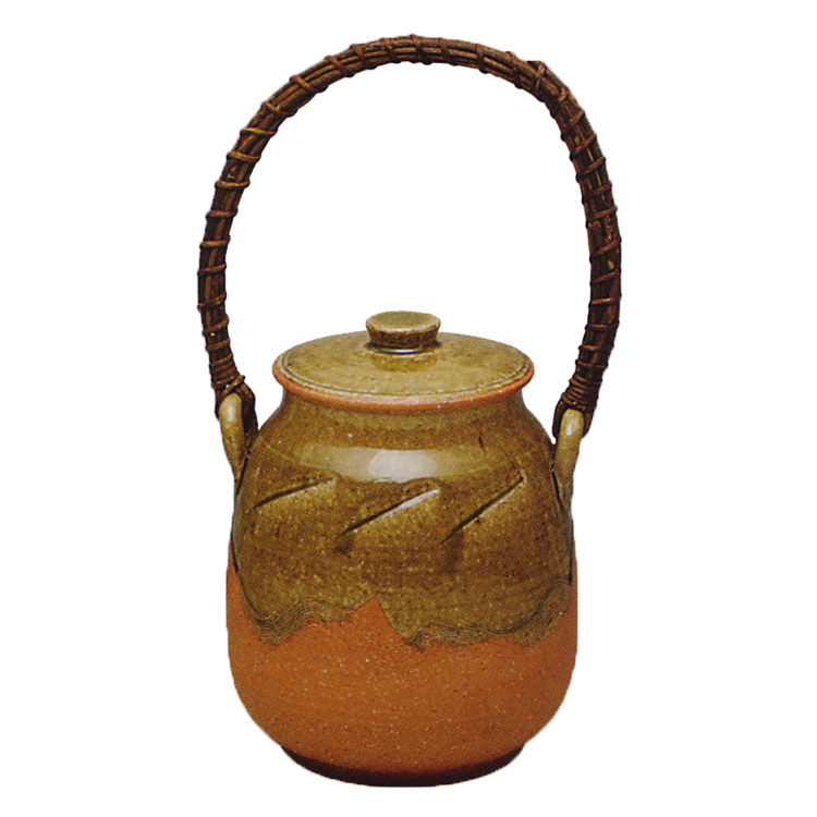 茶道具 信楽焼 火消壷 宇田佐平 (茶道具 通販 )
