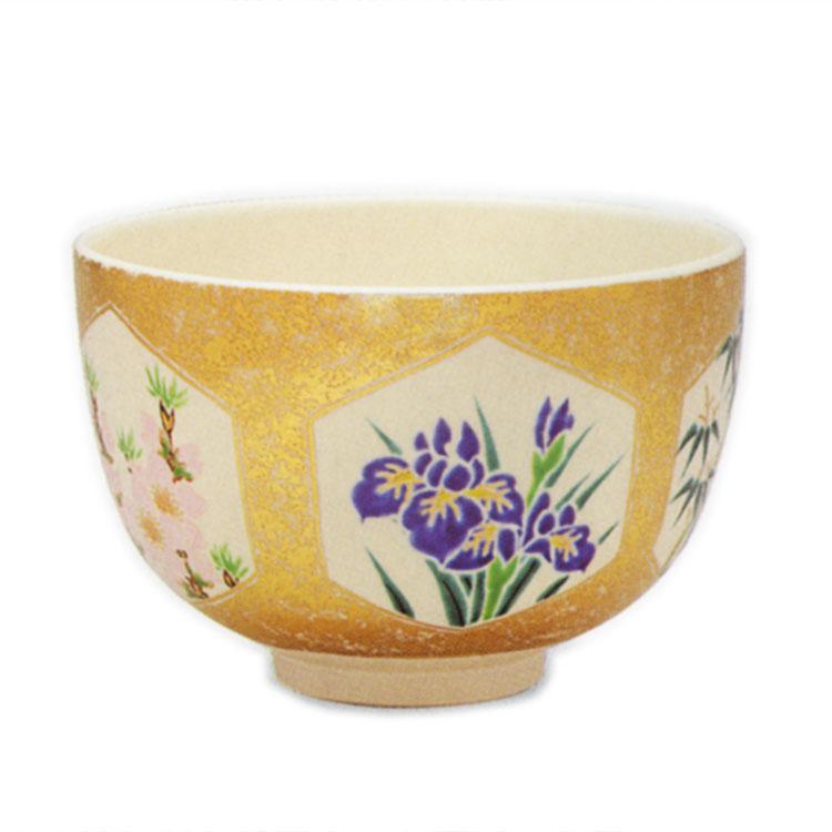 茶道具 抹茶茶碗(まっちゃちゃわん) 金砂子 五節句 茶碗 田中 方円 作