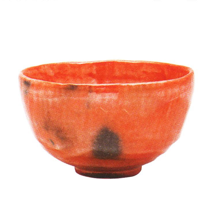 茶道具 抹茶茶碗(まっちゃちゃわん) 利休七種茶碗 長次郎写 検校 茶碗 佐々木 昭楽 作