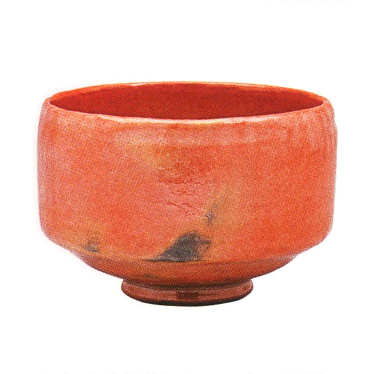 茶道具 抹茶茶碗(まっちゃちゃわん) 利休七種茶碗 長次郎写 木守 茶碗 佐々木 昭楽 作