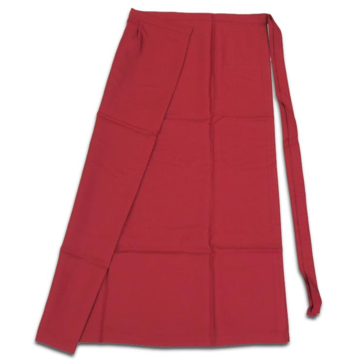 茶道具 お稽古着(おけいこぎ) おけいこ着 スカート(エンジ・紺色) LL(15号~17号) ※ベストは別売りです。