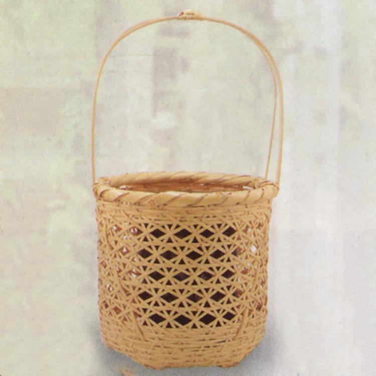 茶道具 花籠(はなかご) 山辺籠花入 松本 頌竹