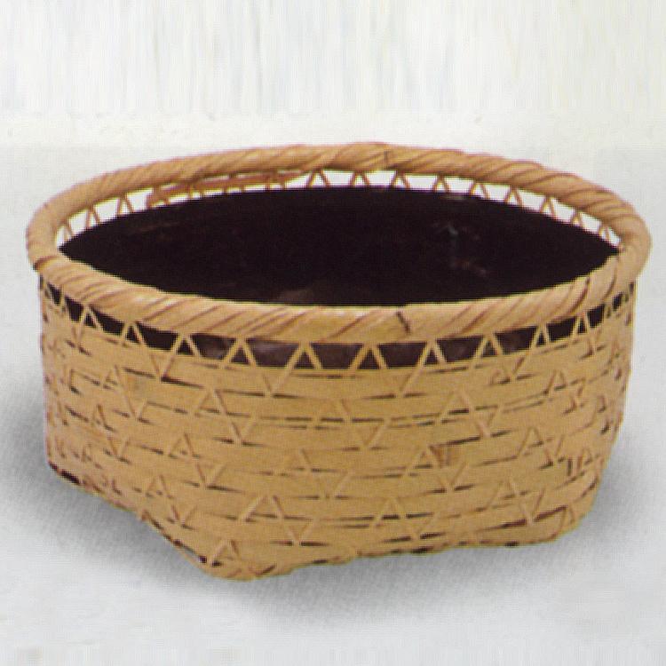 茶道具 炭斗(炭取・すみとり) せぜらぎ炭取 (風炉用) 松本 頌竹