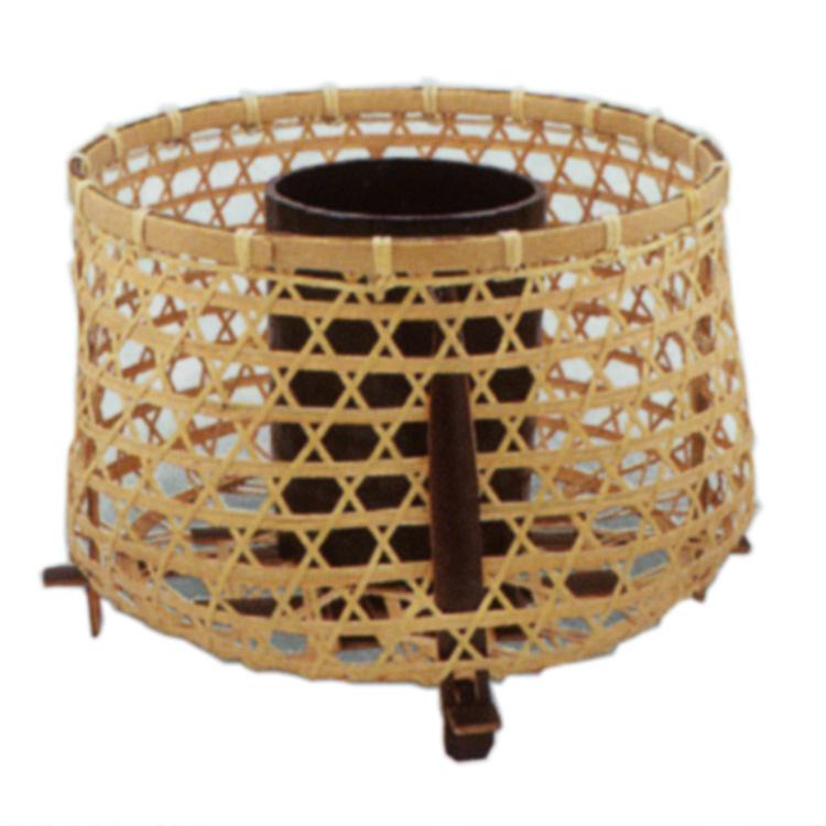 茶道具 花籠(はなかご) 鵜籠 (淡々斎好写)  松本 頌竹 ギフト 通販 千紀園