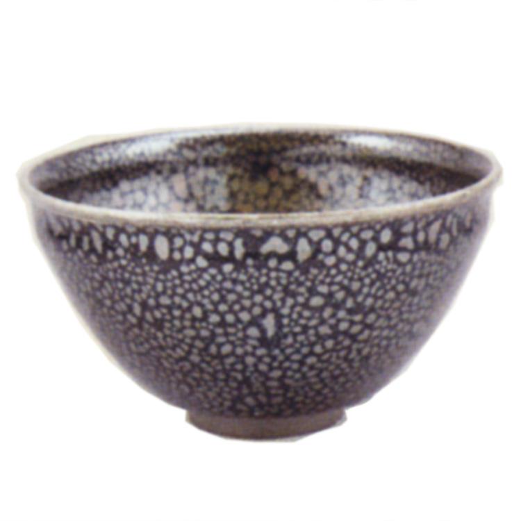 茶道具 抹茶茶碗(まっちゃちゃわん) 赤油滴天目茶碗 田中 永嵩 作