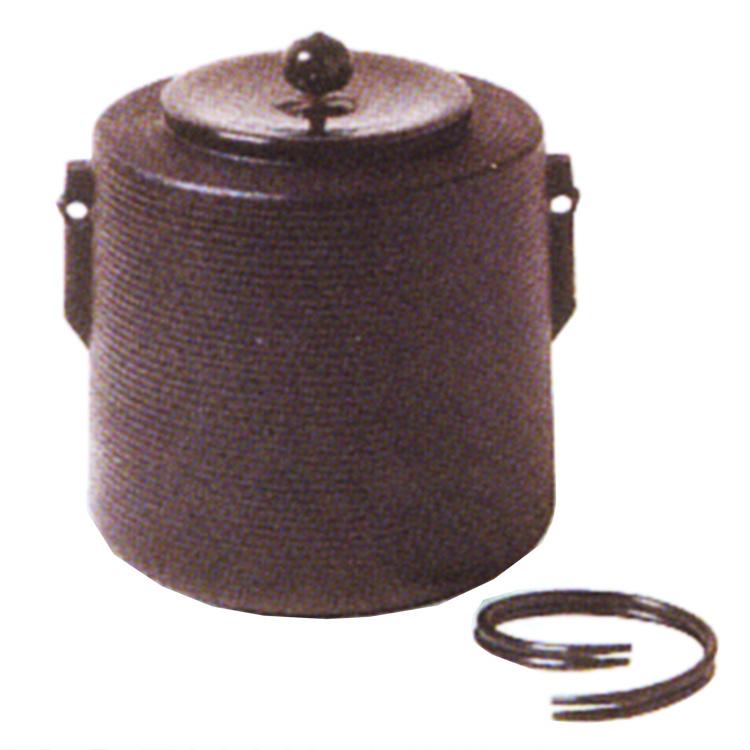 茶道具 風炉釜(ふろがま) 志きの釜 糸目釜 風炉・炉(つり釜用に)
