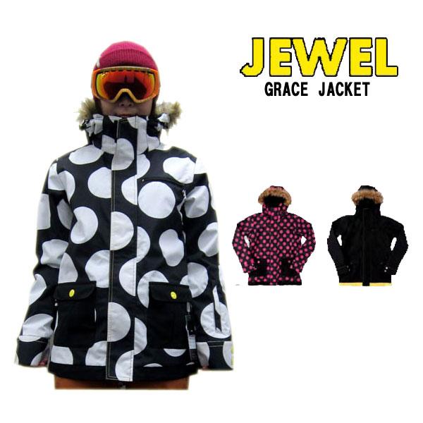 正規販売店 即発送 14-15 JEWEL ジュエル GRACE JACKET スノーボード グレース ウェア 高級品 WOMEN'S ジャケットスノーボードウェア 商品追加値下げ在庫復活 正規品SNOW レディース SNOWBOARD WEAR