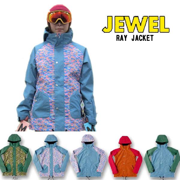 [割引クーポン配布中!~10/11]14-15 JEWEL [ ジュエル ]【 RAY JACKET 】 スノーボード SNOWBOARD ウェア レディース ジャケットスノーボードウェア 正規品SNOW WEAR WOMEN'S レイ