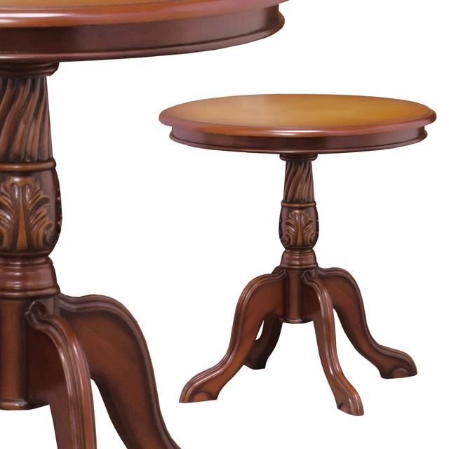 おしゃれ家具 インテリア 完全送料無料 コーヒーテーブル ご予約品 センターテーブル カフェテーブル 円形 丸形 テーブル ブラウン 28571 ラウンド コモ