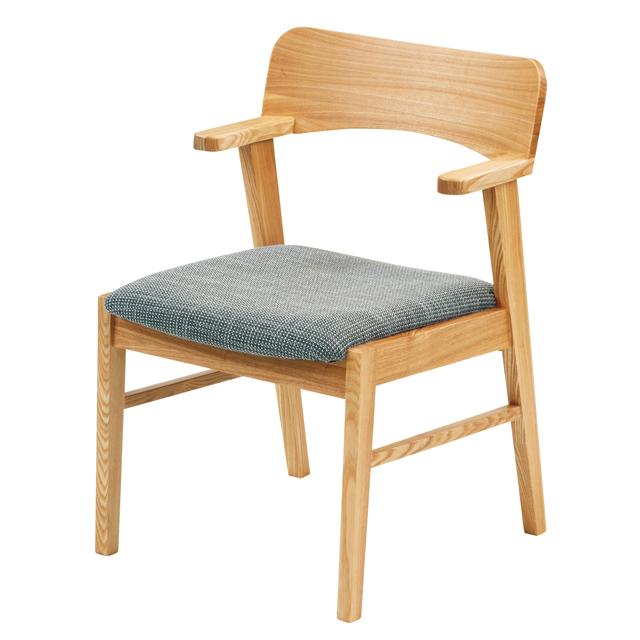 リビングチェアー ダイニングチェアー 木製椅子 座高42cm ラパン 椅子 モリモク