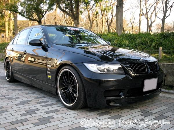 320I E90 BMW Super Cha Manager Kai Black Sapphire Black Black 2005 2006 17  Kaite Power