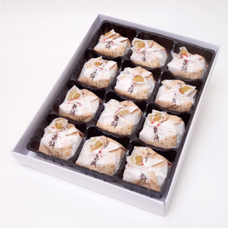 京都栗餅12個入栗餅京都土産