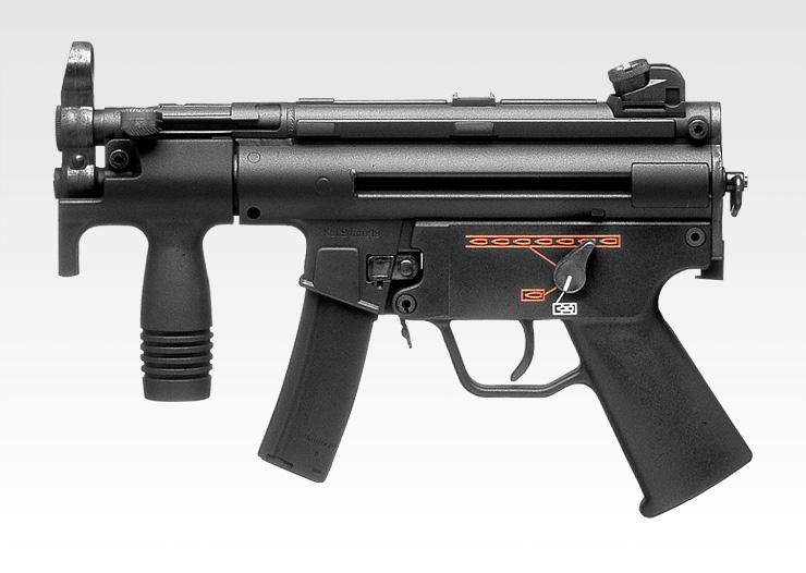 【エアガン】H&K MP5クルツA4 【電動ガン スタンダードタイプ(18才用モデル)】 東京マルイ No.38