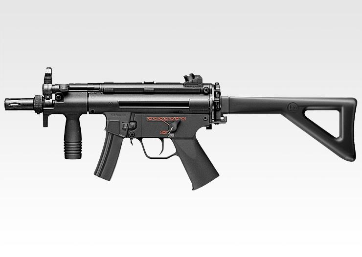 【エアガン】H&K MP5クルツA4 PDW 【電動ガン スタンダードタイプ(18才用モデル)】 東京マルイ No.46
