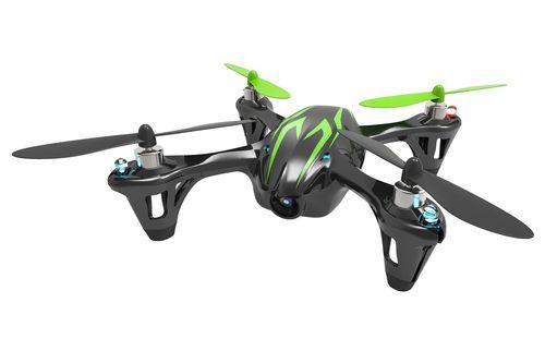 【玩具】4ch 2.4GHz マイクロクアッドコプター X4 HD H107C-2 ブラック・グリーン