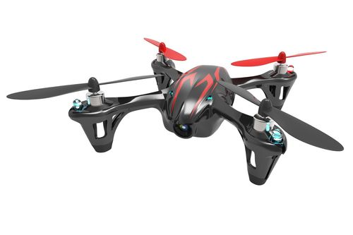 【玩具】4ch 2.4GHz マイクロクアッドコプター X4 HD H107C-3 ブラック・レッド