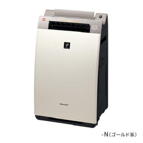美容 健康 SHARP プラズマクラスター25000搭載加湿空気清浄機 24畳 ゴールド KI-EX100 快気祝 修理保証 祝成人