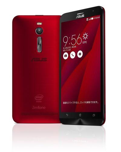 【スマートフォン】ASUS ZenFone 2 レッド ZE551ML-RD64S4 SIMフリー