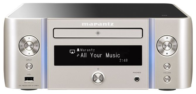 【オーディオ】marantz ネットワークCDレシーバー シルバーゴールド M-CR611-FN【973651】