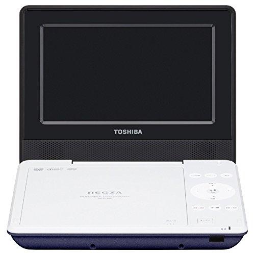 【オーディオ】TOSHIBA 7型ポータブルDVDプレーヤー REGZA ブルー SD-P710SL【974133】