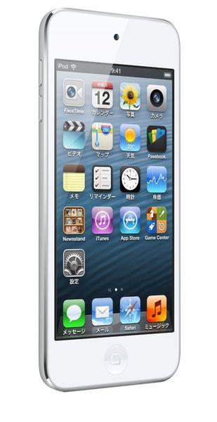 【モバイルPC】Apple iPod touch 64GB ホワイト&シルバー MD721J/A