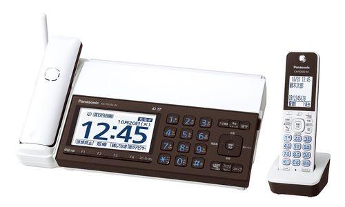【生活家電】Panasonic デジタルコードレスFAX 子機1台付き おたっくす ピアノホワイト KX-PD102DL-W【973838】