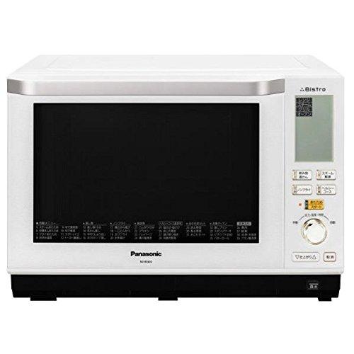 【調理家電】Panasonic ビストロ スチームオーブンレンジ 26L ホワイト NE-BS602-W