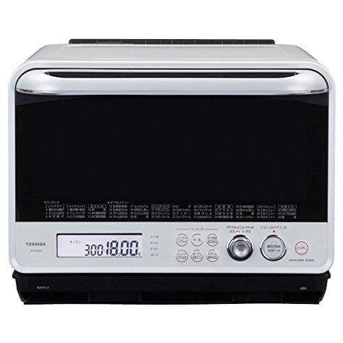 【調理家電】TOSHIBA 過熱水蒸気オーブンレンジ 石窯ドーム グランホワイト ER-MD300-W