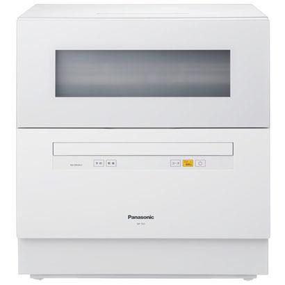 【食器洗い機】 パナソニック NP-TH1-W [ホワイト]・食器洗い乾燥機 ・卓上型 ・ECONAVI(エコナビ)搭載 【976526】