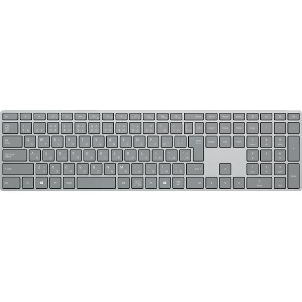 【キーボード】 マイクロソフト Surface Keyboard WS2-00019 [シルバー]・日本語版 ・ワイヤレスキーボード ・Bluetooth対応 【975488】