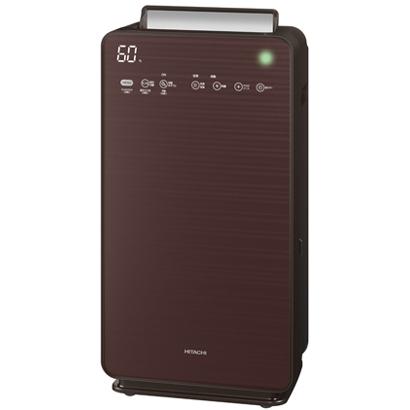 【空気清浄機】 日立 クリエア EP-NVG110(T) [ブラウン]・空清48畳まで/加湿30畳まで ・自動おそうじ ・シャンパンゴールド 【976710】