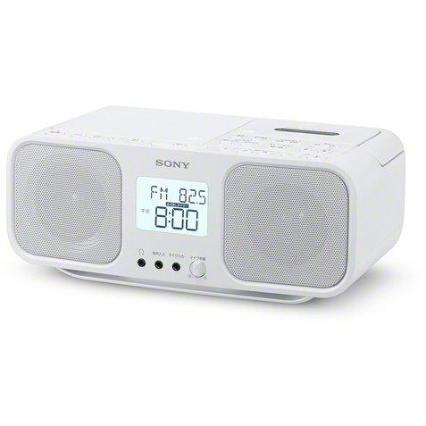 【CDラジカセ】 SONY CFD-S401 [ホワイト]・ソニー ・CDラジカセ ・ワイドFM対応 【978114】T