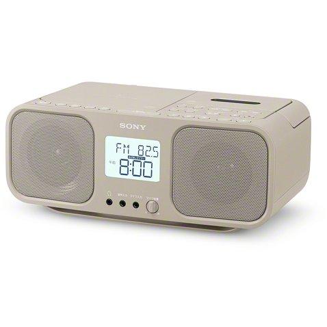 【CDラジカセ】 SONY CFD-S401 [ベージュ]・ソニー ・CDラジカセ ・ワイドFM対応 【978113】T