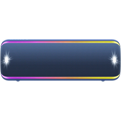 【Bluetoothスピーカー】 SONY SRS-XB32 (L) [ブルー]・SONY ・ワイヤレス ・ポータブルスピーカー 【978730】T