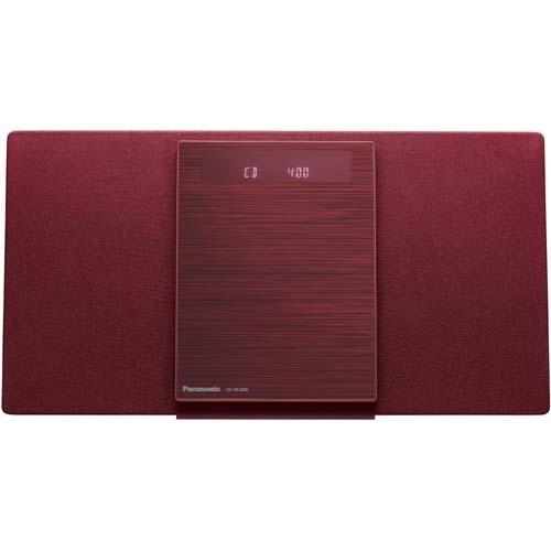 【コンポ】 パナソニック SC-HC400-R [レッド]・パナソニック ・Bluetooth対応 ・ミニコンポ 【978313】