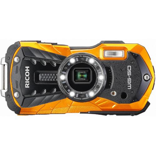 【デジタルカメラ】 リコー RICOH WG-50 [オレンジ]・リコー ・コンパクト ・デジタルカメラ 【977908】