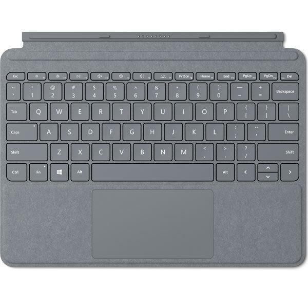【タブレットケース】 マイクロソフト Surface Go タイプ カバー KCS-00019 [プラチナ]・マイクロソフト ・Surface Go用 ・Signature 【977373】